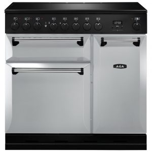 AGA Masterchef MDX90EIPAS Masterchef Deluxe 90cm Induction Range Cooker 121830 – PEARL ASHES