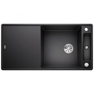Blanco AXIA III XL 6 S ANTHRACITE Silgranit 1.5 Bowl Inset Sink BL468129 – ANTHRACITE