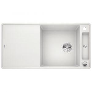 Blanco AXIA III XL 6 S WHITE Silgranit 1.5 Bowl Inset Sink BL468260 – WHITE