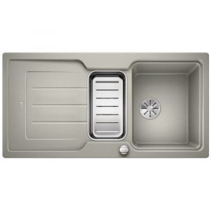 Blanco CLASSIC NEO 6 S PEARL GREY Silgranit 1.5 Bowl Inset Sink BL467877 – PEARL GREY