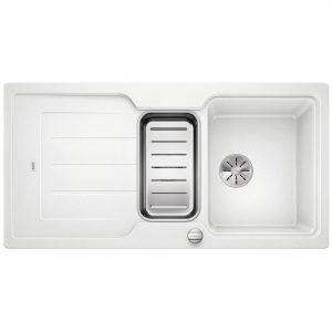 Blanco CLASSIC NEO 6 S WHITE Silgranit 1.5 Bowl Inset Sink BL467869 – WHITE