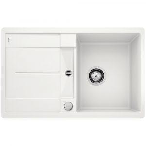 Blanco METRA 45 S WHITE Silgranit Single Bowl Inset Sink BL467227 – WHITE
