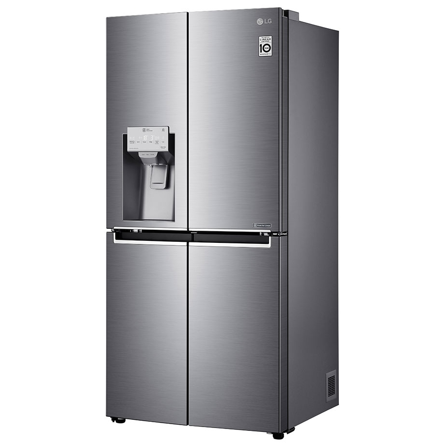 LG GMJ844PZKV Door In Door French Style Fridge Freezer With Ice And Water -  STAINLESS STEEL