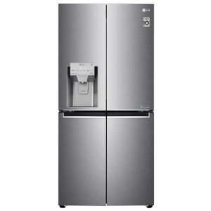 LG GML844PZKV Slim French Style Fridge Freezer With Ice And Water – STAINLESS STEEL