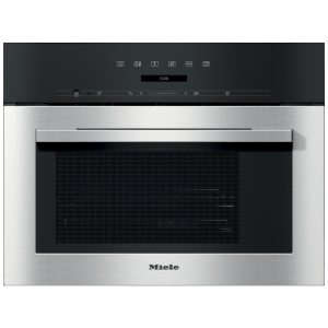 Miele DG7140 ContourLine 60cm Built In Compact Steam Oven – STAINLESS STEEL