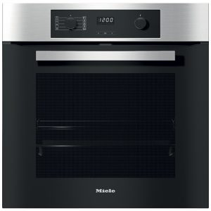 Miele H2267-1BP Built In Pyrolytic Multifunction Single Oven – STAINLESS STEEL