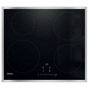 Miele KM7201FR 57cm Four Zone Induction Hob – STAINLESS STEEL
