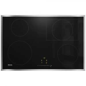 Miele KM7210FR 76cm Four Zone Induction Hob – STAINLESS STEEL