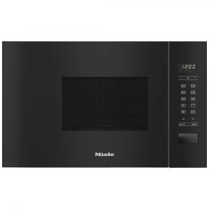 Miele M2234SC ContourLine 60cm Built In Microwave & Grill For Wall Unit – BLACK
