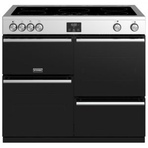 Stoves PREC DX S1000EISS Precision Deluxe 100cm Induction Range Cooker 10758 – STAINLESS STEEL