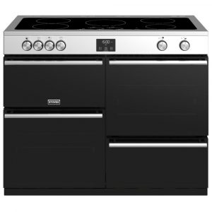 Stoves PREC DX S1100EISS Precision Deluxe 110cm Induction Range Cooker 10760 – STAINLESS STEEL