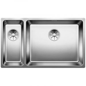 Blanco ANDANO 500-180-U SST RH 1.5 Bowl Undermount Sink BL467791 – STAINLESS STEEL