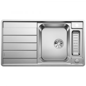 Blanco AXIS III 5 S-IF SST 1.5 Bowl Inset Sink BL468104 – STAINLESS STEEL