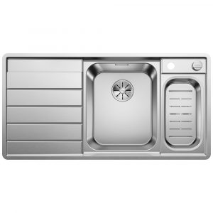 Blanco AXIS III 6 S-IF RH SST 1.5 Bowl Inset Sink BL468102 – STAINLESS STEEL