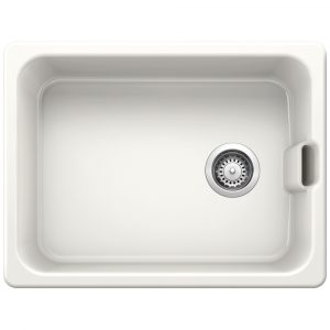 Blanco BELFAST CRYSTAL WHITE Ceramic Single Bowl Sink BL468008 – WHITE