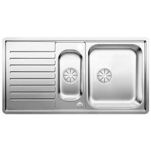 Blanco CLASSIC PRO 5 S-IF SST 1.5 Bowl Inset Sink BL453565 – STAINLESS STEEL