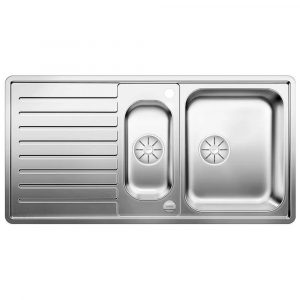 Blanco CLASSIC PRO 6 S-IF SST 1.5 Bowl Inset Sink BL453566 – STAINLESS STEEL