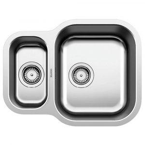 Blanco ESSENTIAL 530-U SST 1.5 Bowl Undermount Sink BL453665 – STAINLESS STEEL