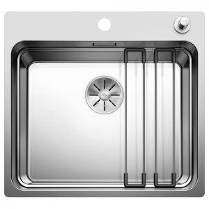 Blanco ETAGON 500-IF A SST Single Bowl Inset Sink BL468101 – STAINLESS STEEL