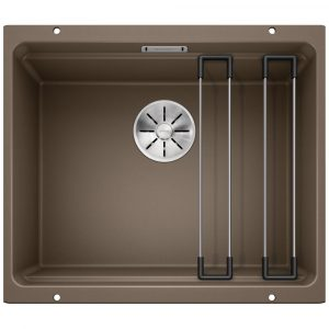 Blanco ETAGON 500-U NUTMEG Silgranit Single Bowl Undermount Sink BL468147 – NUTMEG