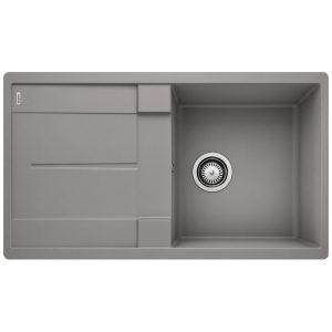 Blanco METRA 5 S ALUMETALLIC Silgranit Single Bowl Inset Sink BL468059 – ALUMETALLIC