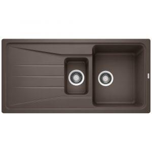 Blanco SONA 6 S COFFEE Silgranit 1.5 Bowl Inset Sink BL468013 – COFFEE