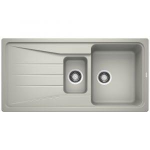 Blanco SONA 6 S PEARL GREY Silgranit 1.5 Bowl Inset Sink BL468016 – PEARL GREY