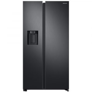 Samsung RS68N8330B0 American Style Fridge Freezer With Non Plumbed Ice And Water – BLACK STEEL