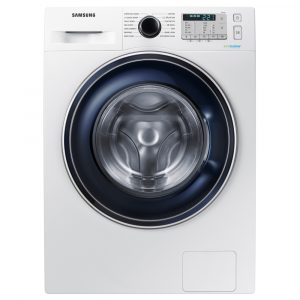 Samsung WW80J5555FAW 8kg Ecobubble Washing Machine 1400rpm – WHITE