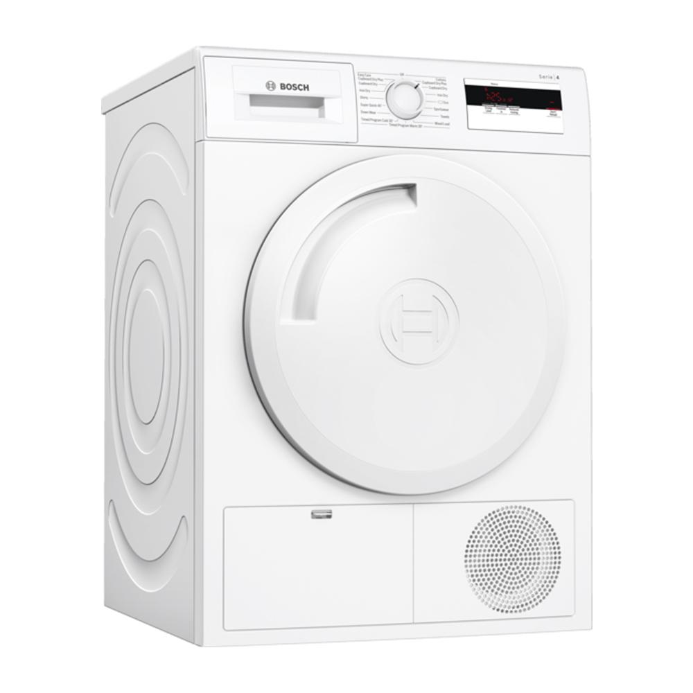 Bosch WTH84000GB 8kg Serie 4 Heat Pump Condenser Tumble Dryer - WHITE
