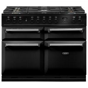 AGA Masterchef MDX110DFBLK Masterchef Deluxe 110cm Dual Fuel Range Cooker 121210 – BLACK