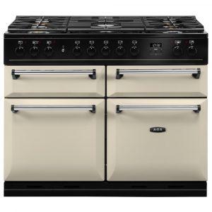 AGA Masterchef MDX110DFCRM Masterchef Deluxe 110cm Dual Fuel Range Cooker 122090 – CREAM
