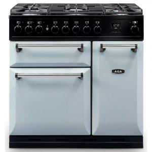 AGA Masterchef MDX90DFPAS Masterchef Deluxe 90cm Dual Fuel Range Cooker 122130 – PEARL ASHES