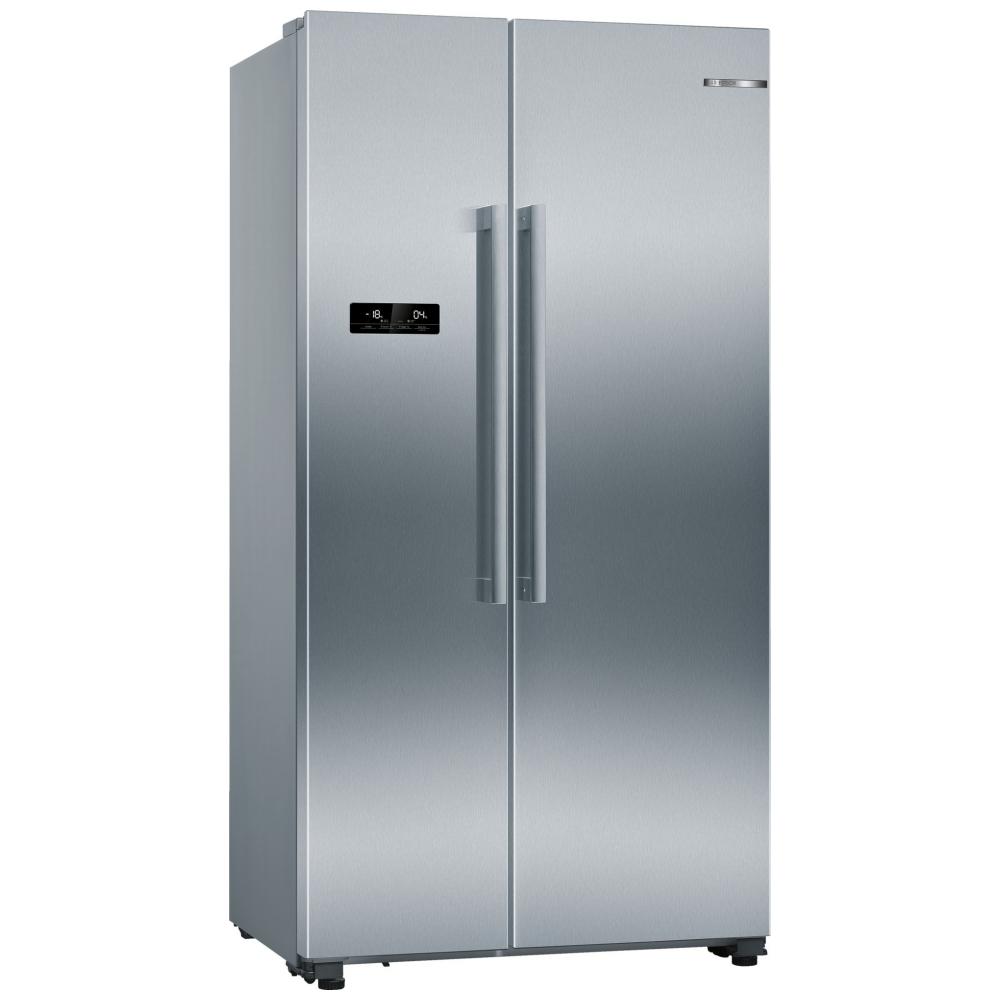 Bosch KAN93VIFPG American Style Fridge Freezer Non Ice & Water - STAINLESS STEEL