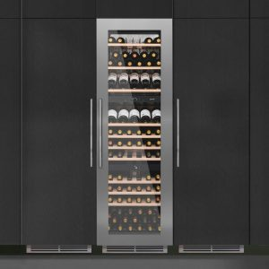 Caple WC1792 179cm Integrated In Column Triple Zone Wine Cooler – STAINLESS STEEL