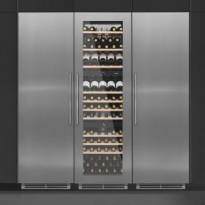 Caple WC1792 PACK Wine Cooler Fridge And Freezer Pack – STAINLESS STEEL
