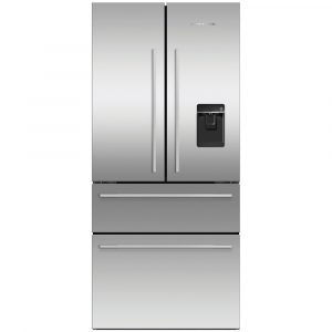 Fisher Paykel RF523GDUX1 79cm French Style Fridge Freezer Ice & Water – STAINLESS STEEL