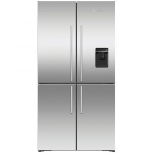 Fisher Paykel RF605QDUVX1 French Style 4 Door Fridge Freezer With Ice & Water – STAINLESS STEEL