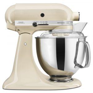 KitchenAid 5KSM175PSBAC 175 Artisan Stand Mixer 4.8 Litre – ALMOND CREAM