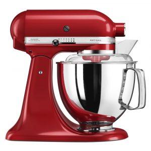 KitchenAid 5KSM175PSBER 175 Artisan Stand Mixer 4.8 Litre – EMPIRE RED