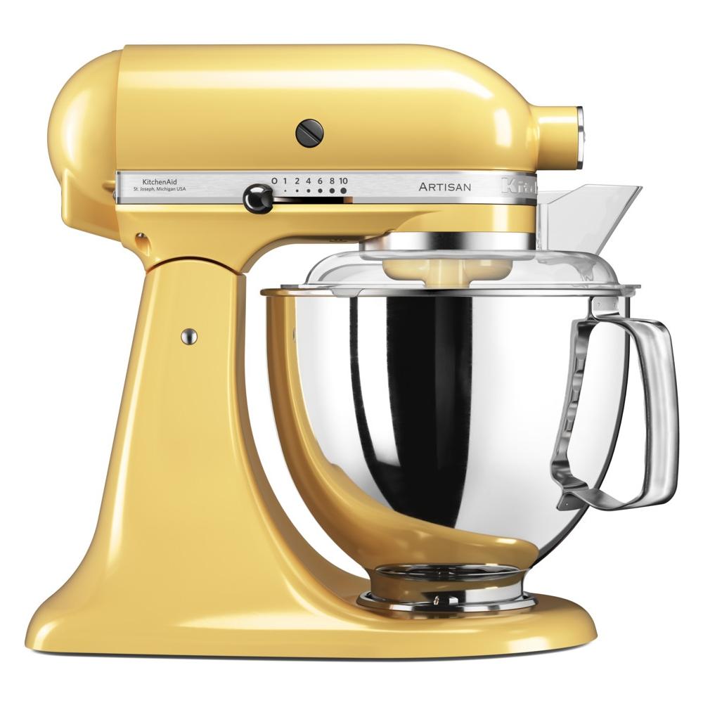 KitchenAid 5KSM175PSBMY 175 Artisan Stand Mixer 4.8 Litre - MAJESTIC YELLOW