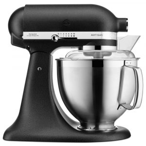 KitchenAid 5KSM185PSBBK 185 Artisan Stand Mixer 4.8 Litre – CAST IRON BLACK