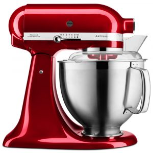KitchenAid 5KSM185PSBCA 185 Artisan Stand Mixer 4.8 Litre – CANDY APPLE