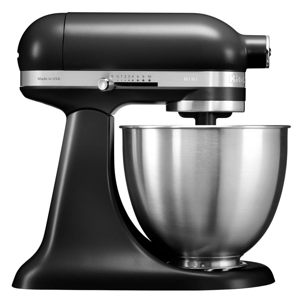KitchenAid 5KSM3311XBBM Mini Tilt-Head Stand Mixer 3.3 Litre - MATT BLACK