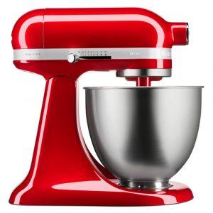 KitchenAid 5KSM3311XBCA Mini Tilt-Head Stand Mixer 3.3 Litre – CANDY APPLE