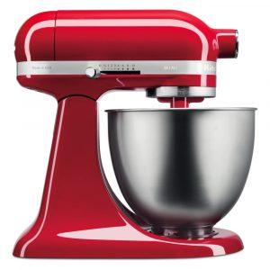 KitchenAid 5KSM3311XBER Mini Tilt-Head Stand Mixer 3.3 Litre – EMPIRE RED