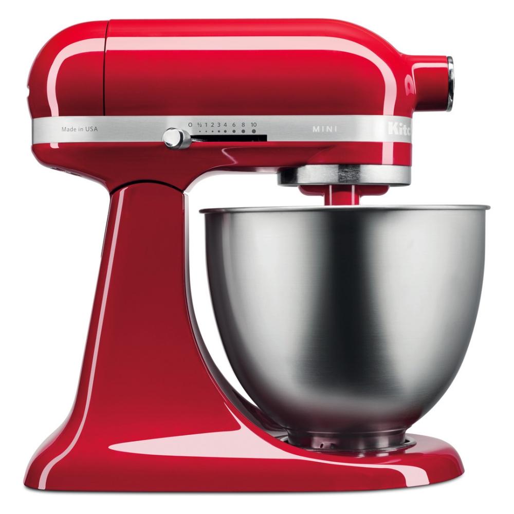 KitchenAid 5KSM3311XBER Mini Tilt-Head Stand Mixer 3.3 Litre - EMPIRE RED