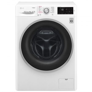 LG F4J610WS 10kg Steam Washing Machine 1400rpm – WHITE