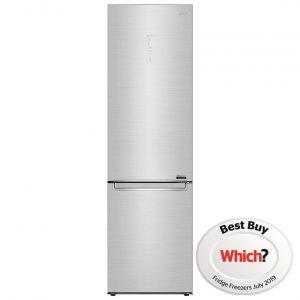 LG GBB92STAXP 60cm Frost Free Fridge Freezer – STAINLESS STEEL