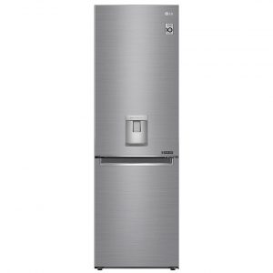 LG GBF61PZJZN 60cm Frost Free Fridge Freezer With Water Dispenser – STAINLESS STEEL